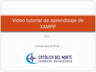 Video tutorial de aprendizaje de XAMPP