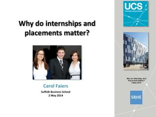 Why do internships and placements matter?