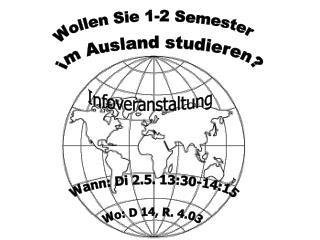 im Ausland studieren?