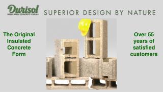 The Original Insulated Concrete Form