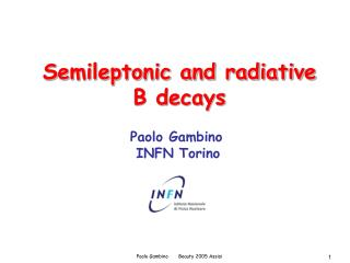 Semileptonic and radiative B decays