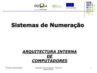 Sistemas de Numera��o