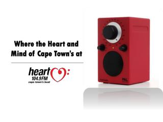 Where the Heart and Mind of Cape Town�s at