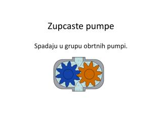 Zupcaste pumpe