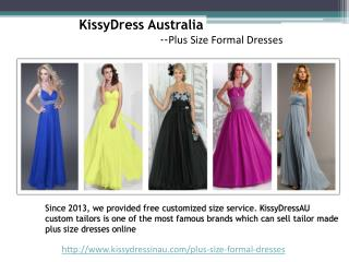 Modest Plus Size Formal Dresses Provided By KissyDressinau