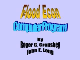 Flood Econ
