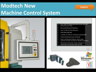 Modtech New  Machine Control System