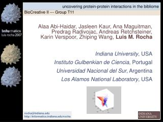uncovering protein-protein interactions in the bibliome
