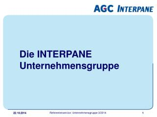Die INTERPANE Unternehmensgruppe