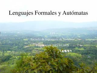 Lenguajes Formales y Autómatas