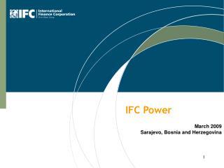 IFC Power March 2009 Sarajevo, Bosnia and Herzegovina
