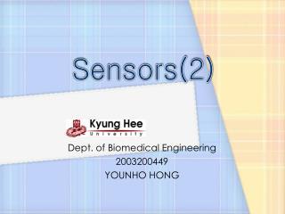Sensors(2)