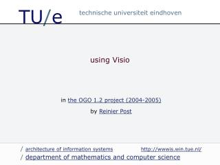 using Visio