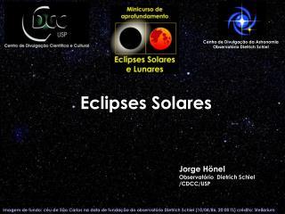 Eclipses Solares