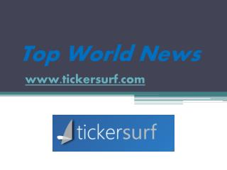 North America News - www.tickersurf.com