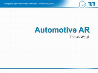 Automotive AR
