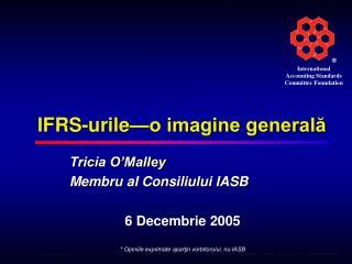 IFRS-urile—o imagine generală