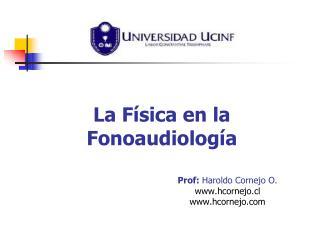 La Física en la Fonoaudiología