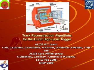 Track Reconstruction Algorithms for the ALICE High-Level Trigger