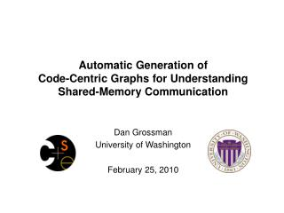 Automatic Generation of  Code-Centric Graphs for Understanding Shared-Memory Communication