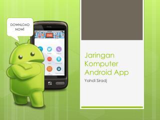 Jaringan Komputer  Android App