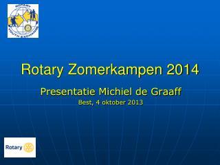 Rotary Zomerkampen 2014