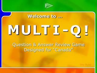 Multi-Q Introduction