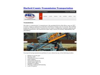 Harford County TransmissionSpecialist