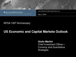 US Economic and Capital Markets Outlook
