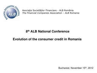 Asociaţia Societăţilor Financiare  - ALB  România