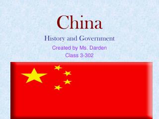 China History and Government