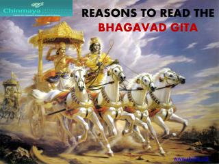 Reasons to read the Bhagavad Gita