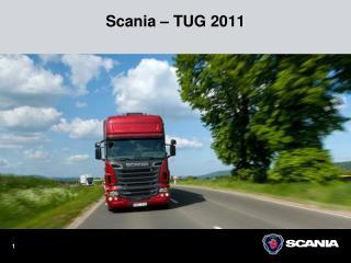 Scania – TUG 2011