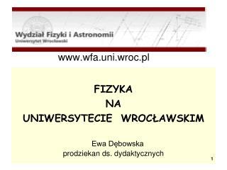 wfa.uni.wroc.pl