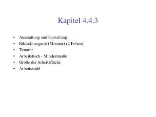 Kapitel 4.4.3