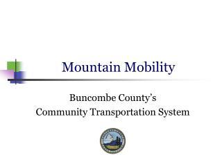 Mountain Mobility