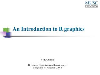 An Introduction to R graphics