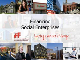 Financing Social Enterprises
