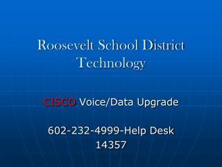 Roosevelt School District Technology