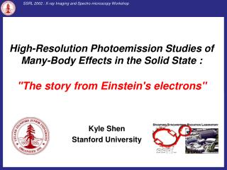 Kyle Shen Stanford University