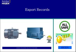 Export Records