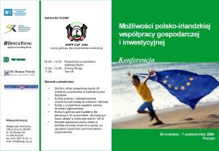 Sobota 02/10/2004 WZPP CUP  2004 turniej golfowy dla uczestników konferencji
