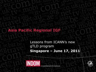 Asia Pacific Regional IGF