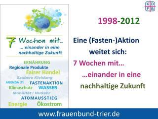 1998 -2012