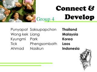 Connect & Develop