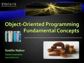 Object-Oriented Programming Fundamental Concepts