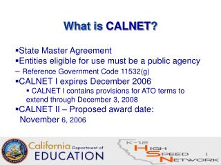 What is  CALNET ?