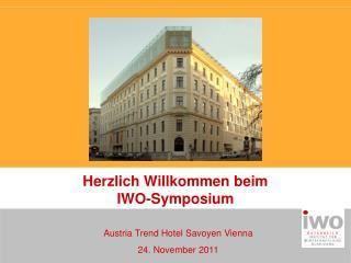 Austria Trend Hotel Savoyen Vienna 24. November 2011