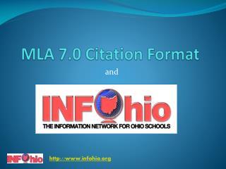MLA 7.0 Citation Format