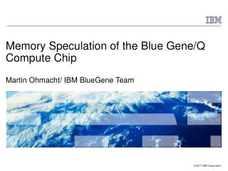 Memory Speculation of the Blue Gene